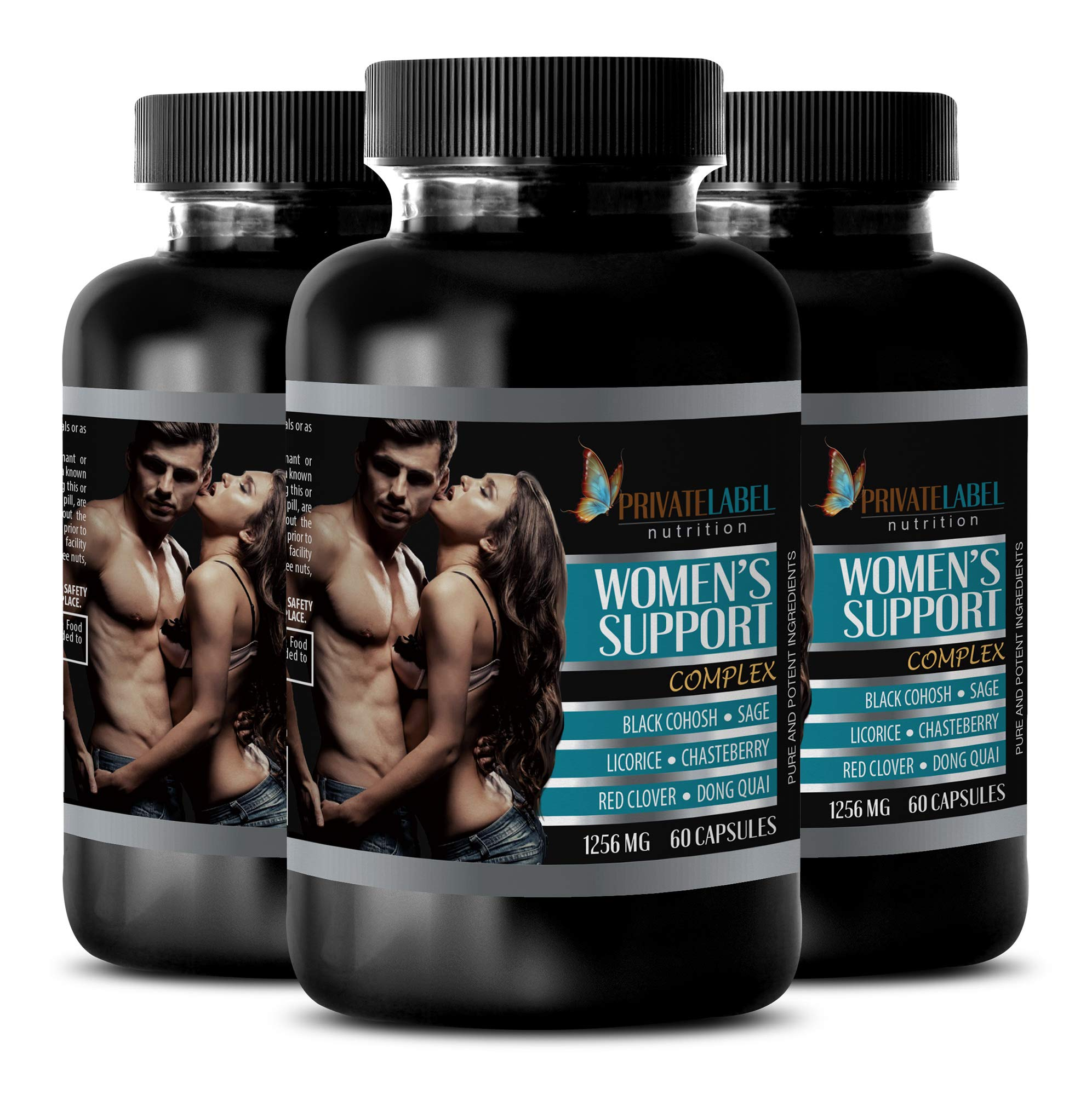 Heart Health Vitamins for Women - Women's Support Complex - Pure and Potent Ingredients - Immune Boost Pills - 3 Bottles (180 Capsules)