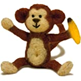 Dimensions Needlecrafts Needle Felted Character Kit, Monkey