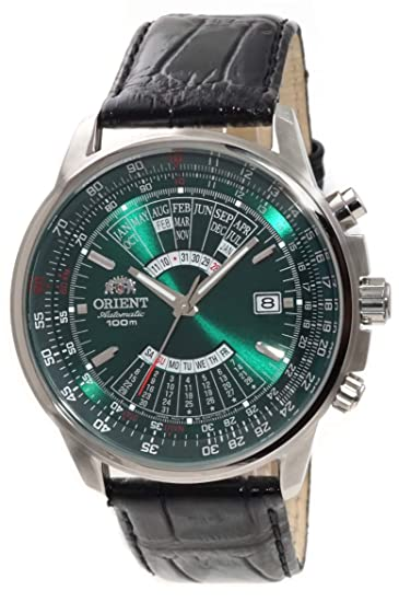 342c6579f ORIENT Sports Automatic Multi-Year Calendar Green Dial Watch EU0700CF:  Amazon.ca: Watches