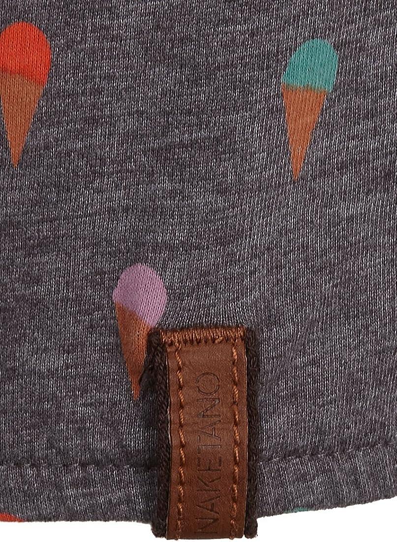Naketano Damen Longsleeve Gewitzt Gespritzt T-Shirt