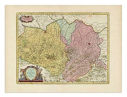 Amazon Com The Blaeu Prints Reggio Nell Emilia Emilia Romagna
