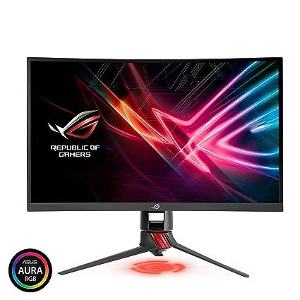 Amazon Com Asus Rog Strix 27 Curved Gaming Monitor Full Hd 1080p