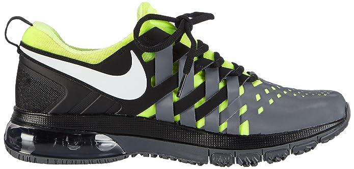 more photos e15a9 a0afd Nike Men s Fingertrap Max Fitness Shoes, (Black White-Dark Grey-Volt 017),  6.5 UK  Amazon.co.uk  Shoes   Bags