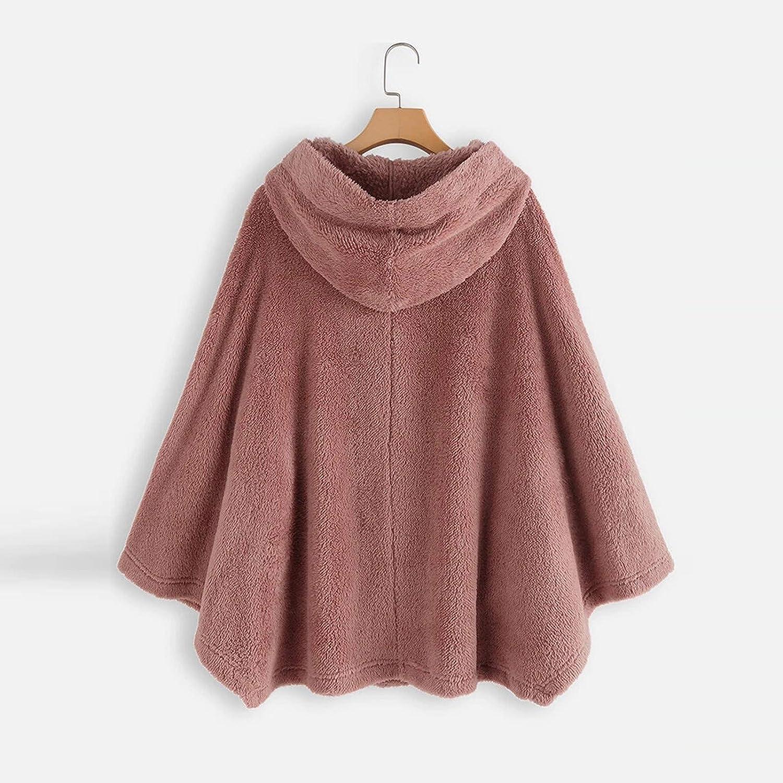 GGONG Women Fall//Winter Coat Long Sleeves Tops Printing Fashion Fleece Pullover Sweater Blouse Plus Size Down Coats Jackets