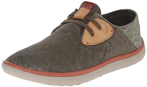 Duskair - Zapatos con Cordones Hombre, Verde (Vert (Dusty Olive)), 41 Merrell