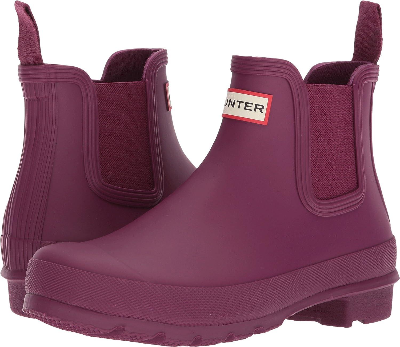 Hunters Boots Men's Original Chelsea Boots B076X6T97T 9 B(M) US|Violet