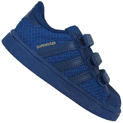 big sale 4ed3c 035d3 ADIDAS Originals Superstar II Niños Chicos Zapatillas de Deporte Azul  Marino Zapatillas - Azul Oscuro, EUR 18  Amazon.es  Zapatos y complementos