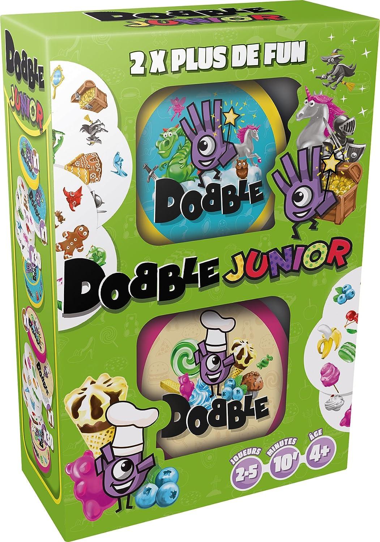 Asmodee Dobble Junior - Juegos de Cartas (4 año(s), 5 min, 15 min, 30 Pieza(s))