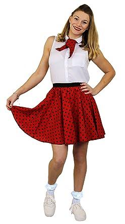1685738dcb4 I Love Fancy Dress ILFD7017PS Ladies Short Polka Dot Skirt Length - 17  Inches Long