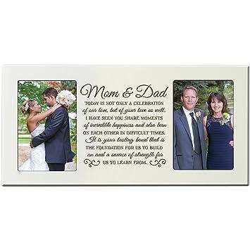 Amazon Lifesong Milestones Parent Wedding Gift Picture Frame