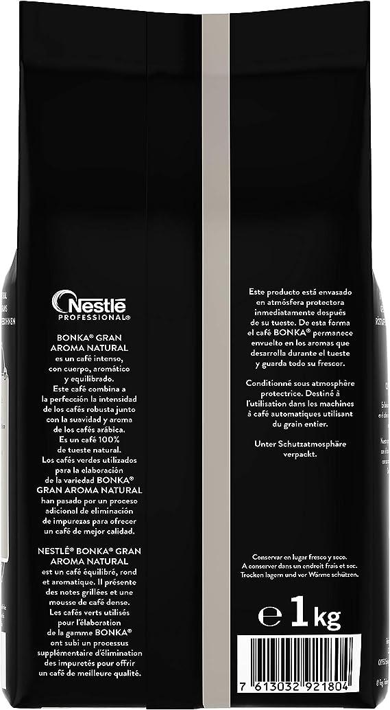 Bonka Café en Grano Natural - 1000 gr: Amazon.es: Alimentación y ...