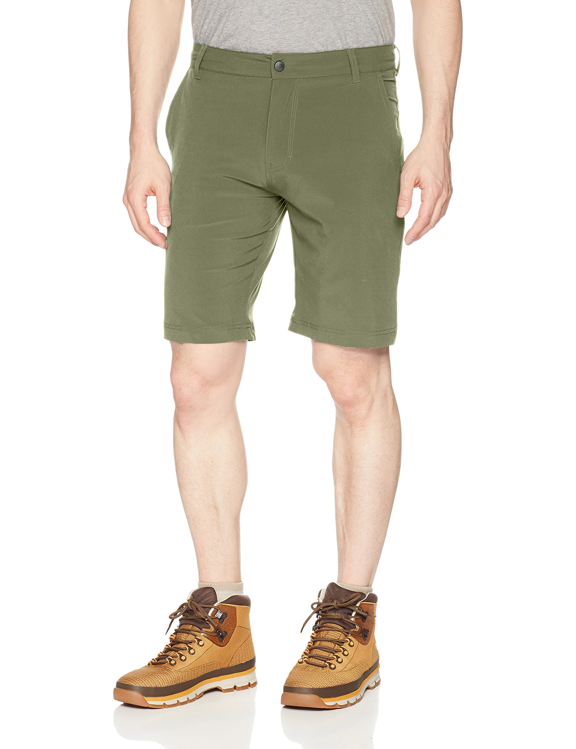 Columbia Men's Hybrid Trek Shorts, Moss Tone, 34 x 8