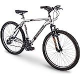 """26"""" Royce Union RTT Mens 21-Speed Mountain Bike, 20"""" Aluminum Frame, Trigger Shift, Silver, Model Number: 76428"""
