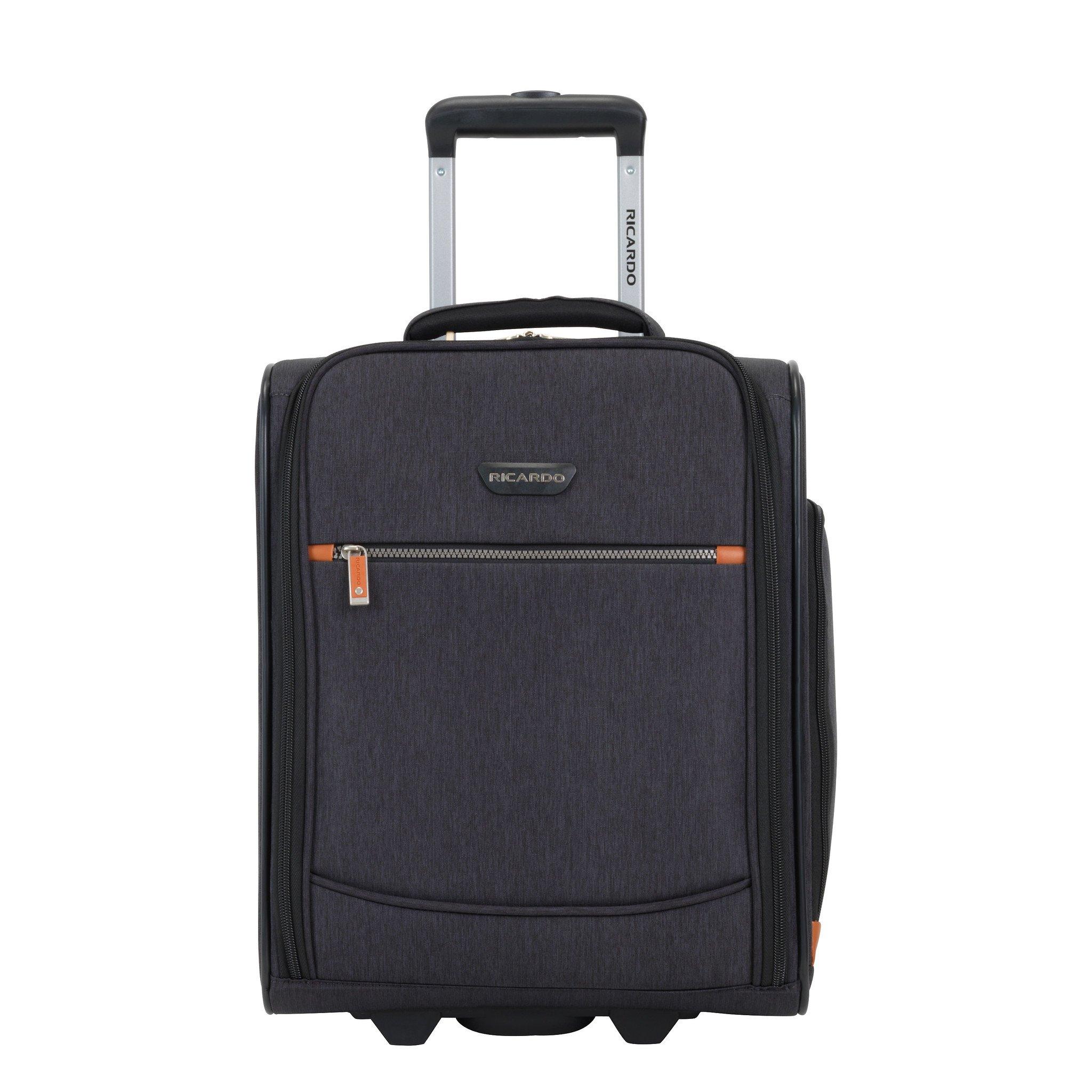 Ricardo Beverly Hills Luggage Shasta Lake 16'' Rolling Tote, Dark Charcoal