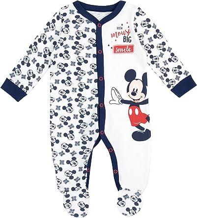 Disney Mickey Mouse - Pijama Entera para Niños Bebés - Mickey ...