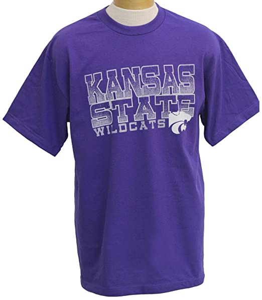 Amazon.com: NCAA Kansas State Wildcats Acho playera de manga ...