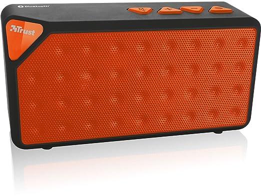 3 opinioni per Trust Urban Yzo Mini Altoparlante Bluetooth Portatile, Arancione