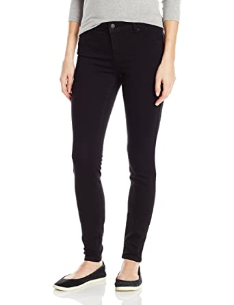 Celebrity Pink Jeans Women's Infinite Stretch Mid Rise Skinny Jean, Black  Rinse, ...