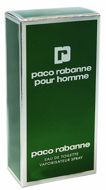 Paco Rabanne Pour Homme Eau de Toilette Vaporizador - 50 ml: Amazon.es: Belleza