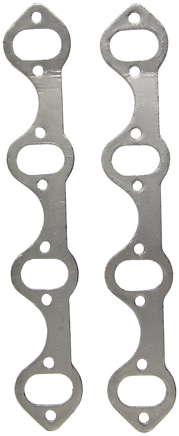 Remflex 3004 Exhaust Gasket for Ford V8 Engine, (Set of 2)
