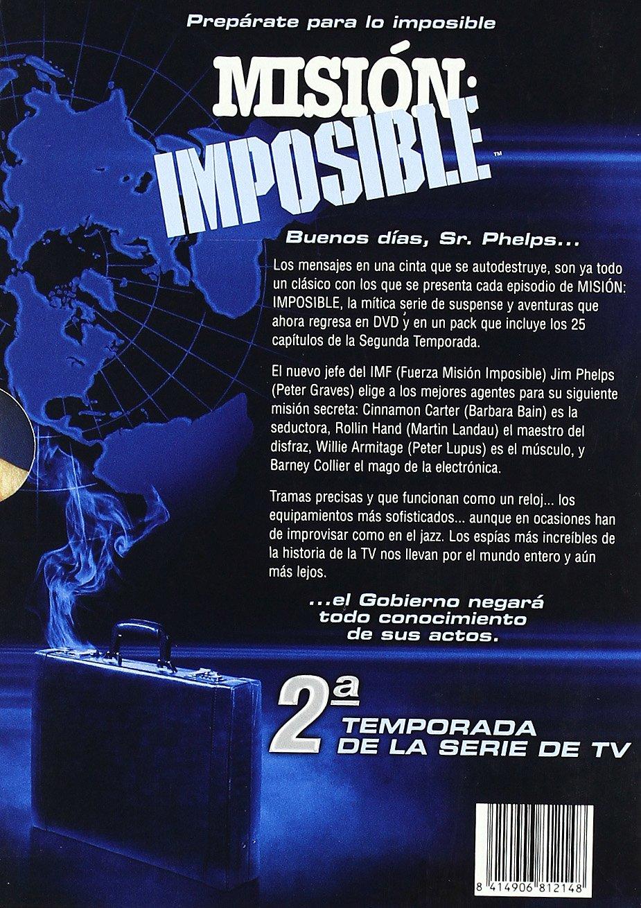 Misión imposible (2ª temporada) [DVD]: Amazon.es: Peter Graves ...