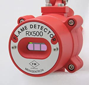 RX500 FM Approved, IECEx and ATEX Certified Explosion Proof Type Triple IR Type Flame Detector