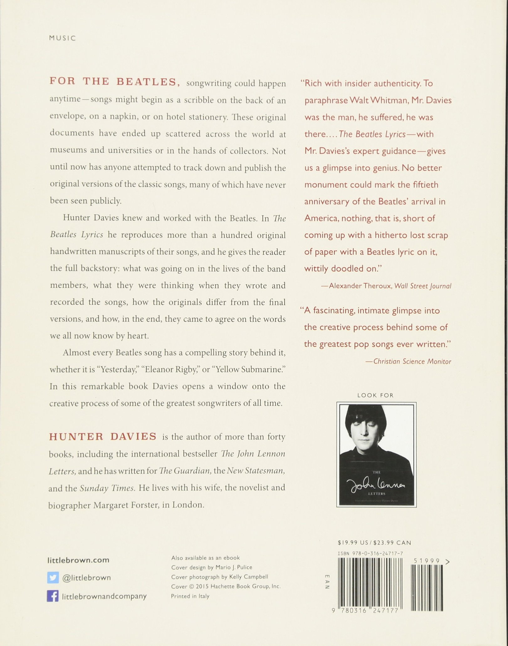 The Beatles Lyrics: The Stories Behind the Music, Including the ...