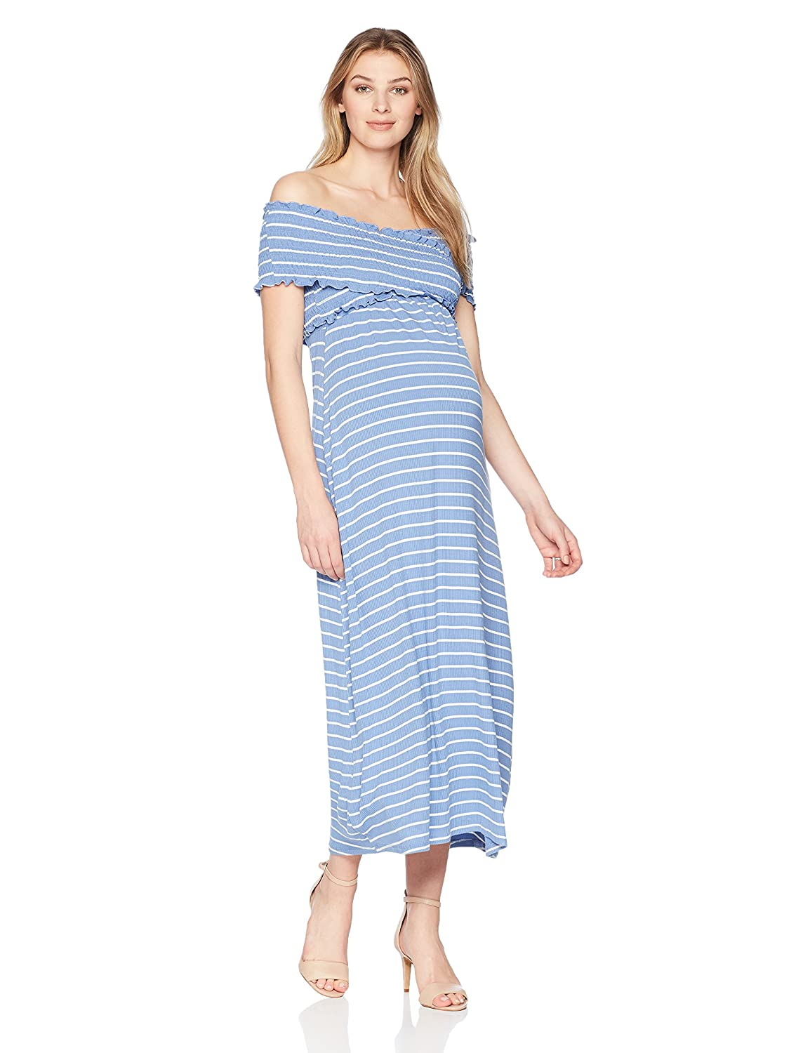 Maternal America DRESS レディース B078X2LMPV レディース Medium|Indigo Medium America Stripe Indigo Stripe Medium, あかりSHOP D-STYLE:794b7ce4 --- guayson.grupoies.com.mx