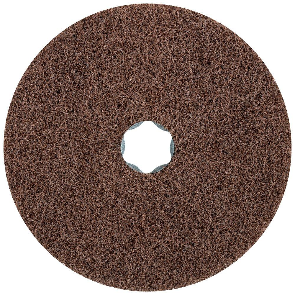 Soft Type 9,650 RPM 5 Diameter Pack of 10 Fine Grit PFERD 48136 Combiclick Non-Woven Disc