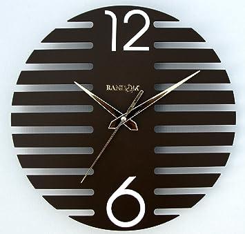 Buy Random Wings Wooden Wall Clock Brown Online at Low Prices in