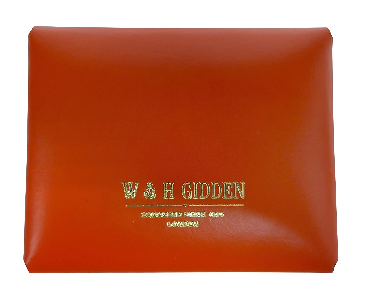 W /& H Gidden Mens Coin Case with Gidden Loop Closure