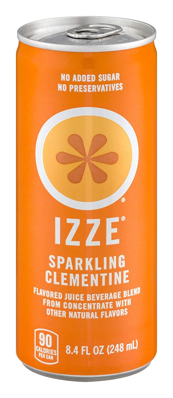 Izze Sparkling Juice, Clementine, 8.4 oz