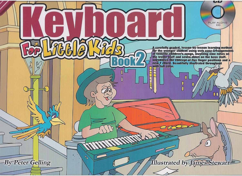Aprender a jugar teclado para niños pequeños libro dos ...