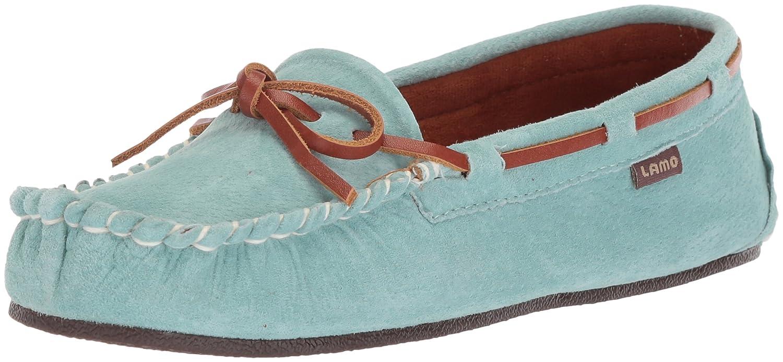 Lamo Women's Sabrina Moc II Shoe, Moccasin, Chestnut B01BKSGI0Q 8 B(M) US|Mint