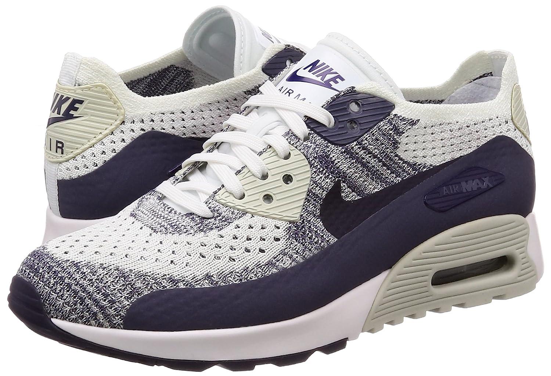 7bad50a995 Amazon.com | Nike Womens Air Max 90 Ultra 2.0 Flyknit Running Trainers  881109 Sneakers Shoes (UK 4 US 6.5 EU 37.5, White Dark Raisin 102) |  Fashion Sneakers