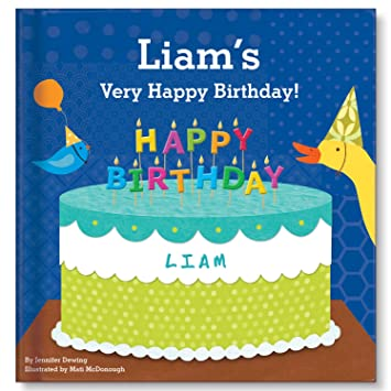 Happy Birthday Personalized Custom Name Book For Boys First Gift I See Me