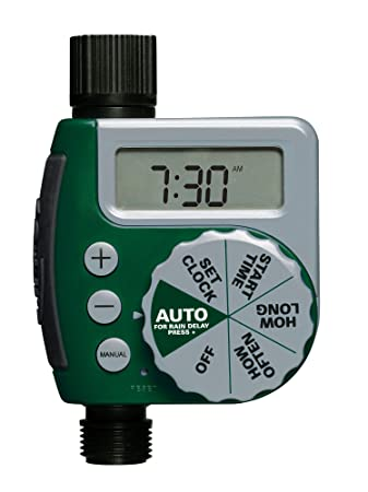 Amazon.com : Orbit 58910 2-Outlet Programmable Hose Faucet Timer ...
