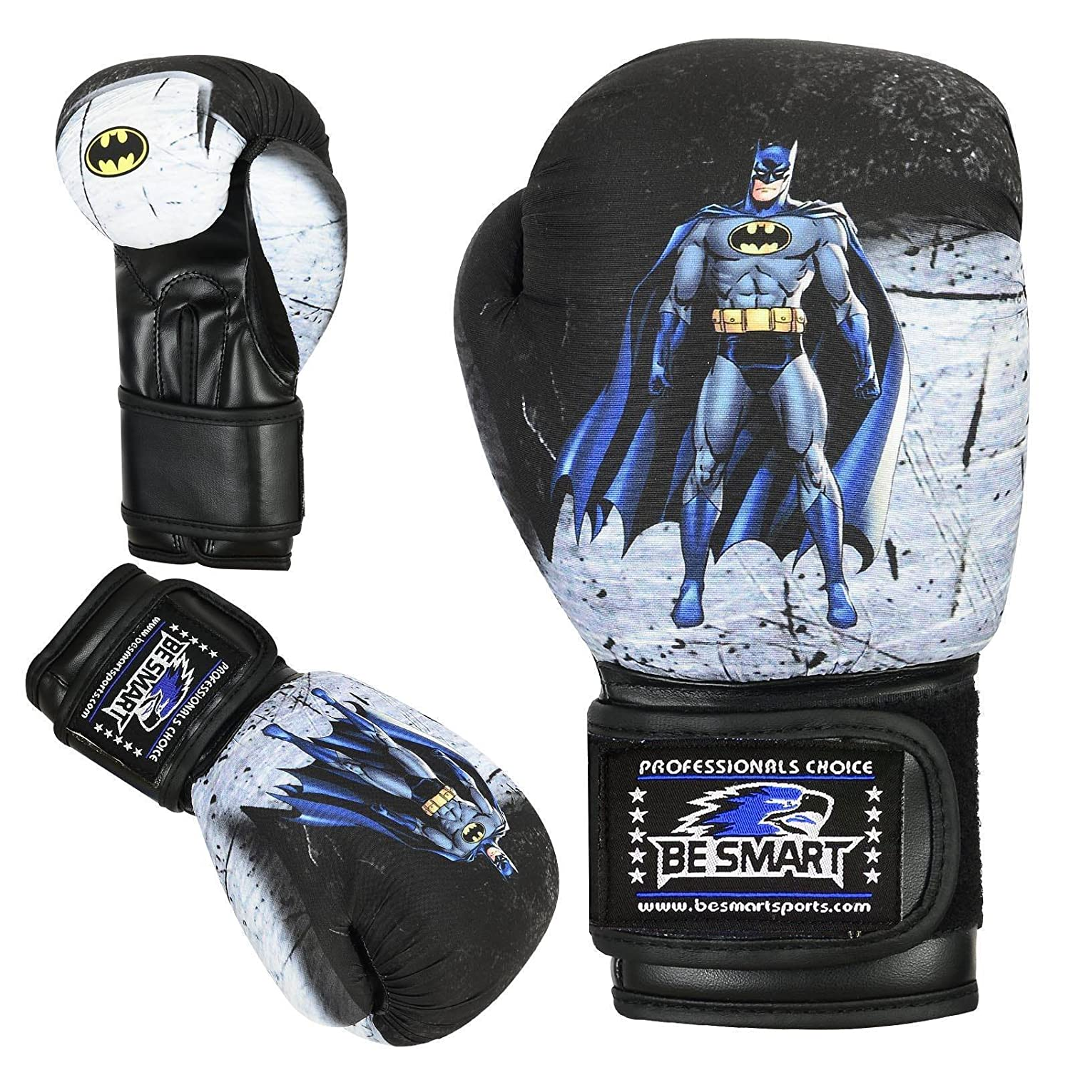 6oz Punch Bag Children MMA Youth Authentic Advance Gel Gloves Used by Top MMA Clubs BeSmart Spider-man Kids Boxing Gloves Junior Mitts 4oz