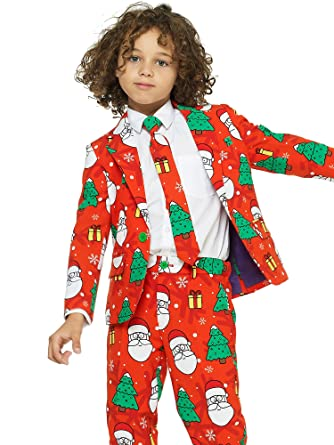 975ad56f6 Amazon.com  OppoSuits Christmas Suits for Boys in Different Prints ...
