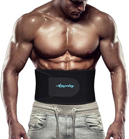 Fitness Belt Back Waist Support Slim Sweat Trimmer Trainer Sport Protective Gear