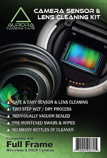 Cámara réflex digital VSGO Full Frame Sensor d cargado CCD//CMOS Limpieza Kit 10 Swabs DDR-23