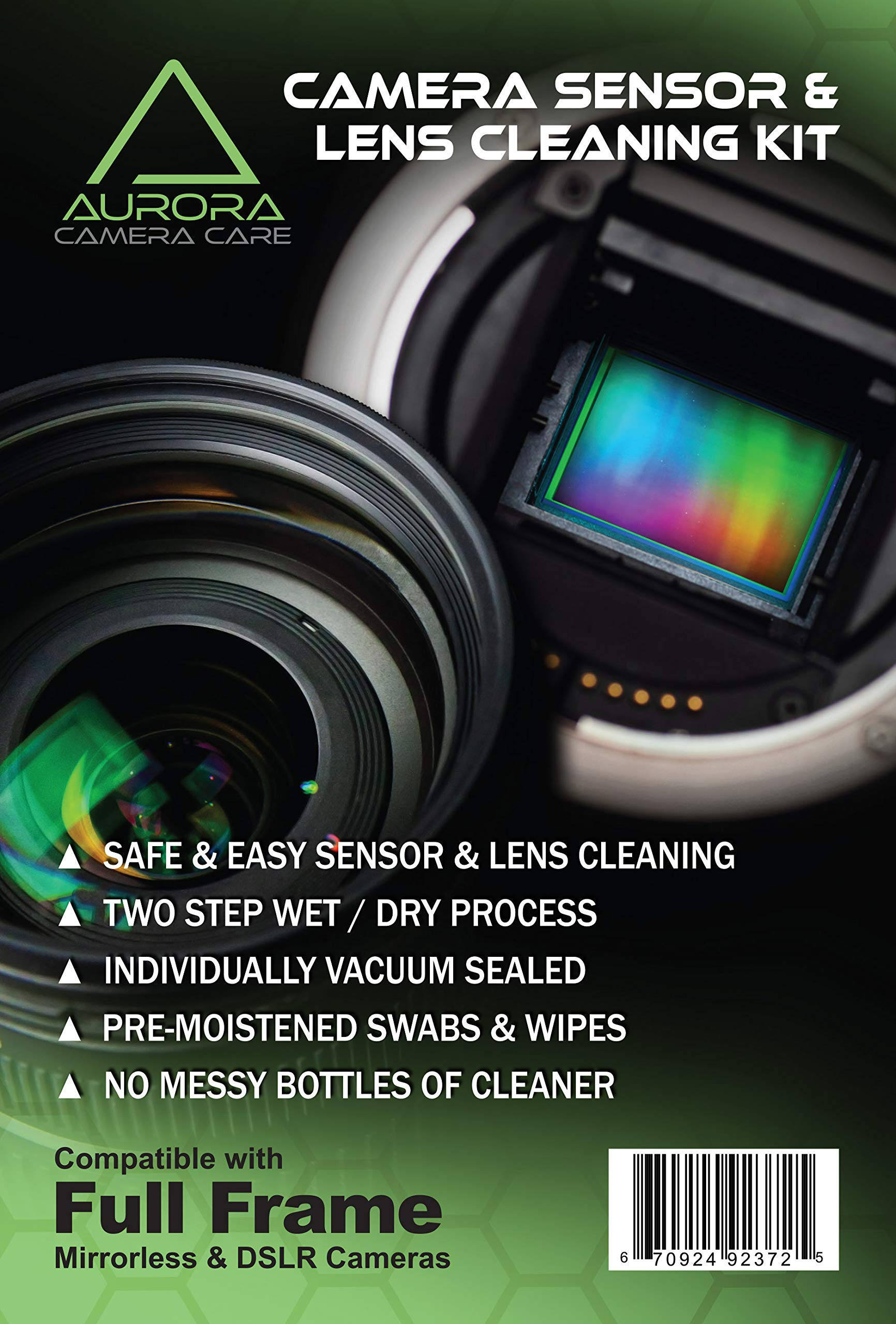 Aurora Camera Care Camera Sensor & Lens Cleaning Kits (Full Frame) by Aurora Camera Care
