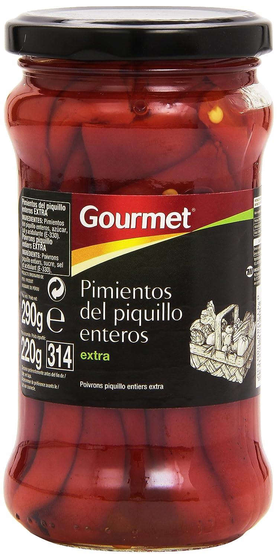 Gourmet Extra Pimientos del Piquillo Enteros - 225 g: Amazon.es: Amazon Pantry
