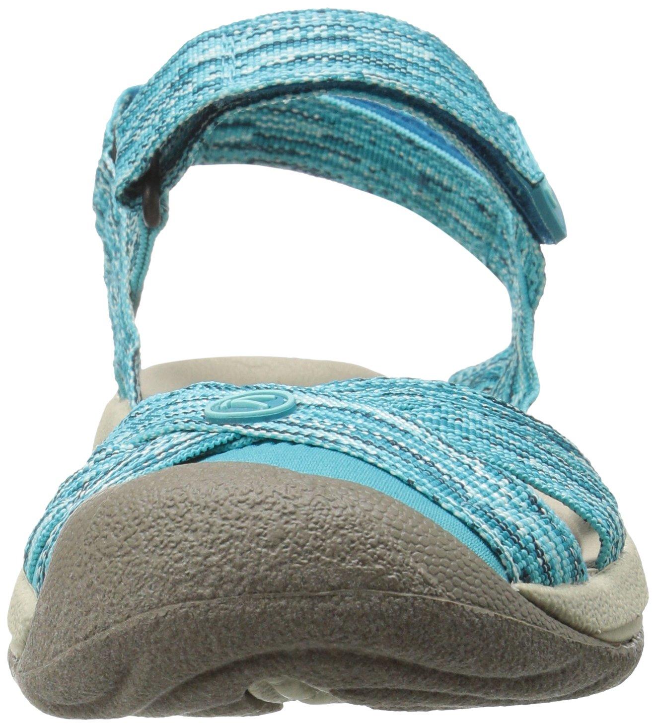KEEN Women's Bali Strap Sandal B01H76V80K 9 B(M) US|Radiance/Algiers
