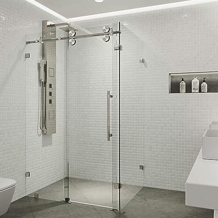 Merveilleux VIGO 36 X 60 Frameless Rectangular Sliding Shower Door Enclosure With Tempered  Glass | Waterproof Shower