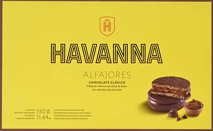 Havanna Alfajores de Chocolate - 330 gr
