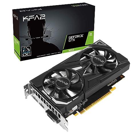 KFA2 65SQH8DS08EK - Tarjeta gráfica (GeForce GTX 1650, 4 GB ...