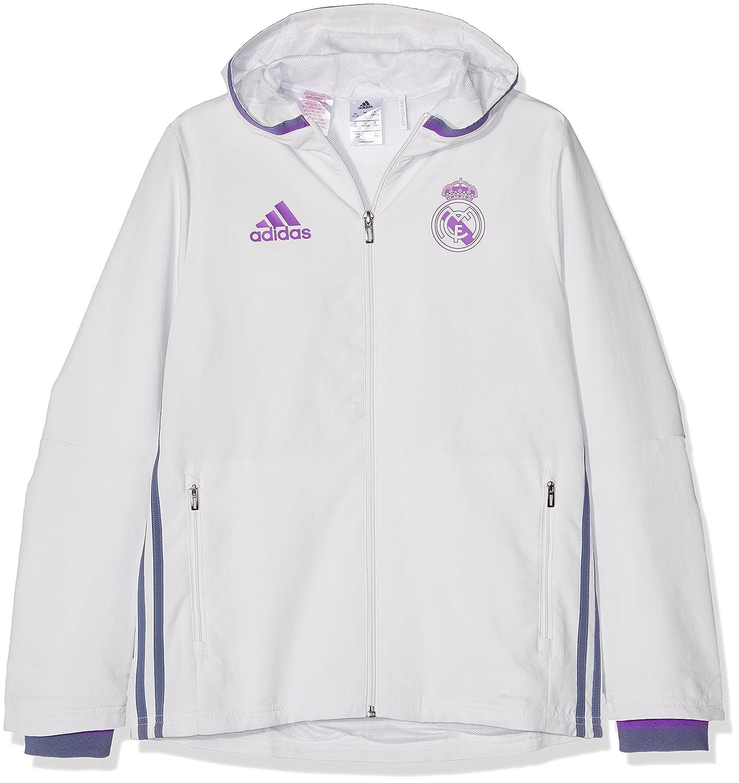 adidas Real Madrid CF Pre Y Chaqueta, Niños: Amazon.es: Deportes y aire libre