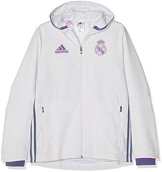 adidas Real Madrid CF Pre Y Chaqueta 08c4c1caa66c7
