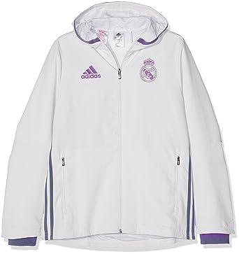 adidas Real Madrid CF Pre Y Chaqueta, Niños